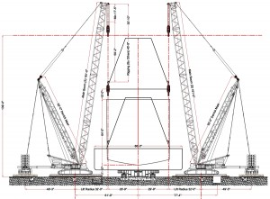 CAD version of the same lift plan