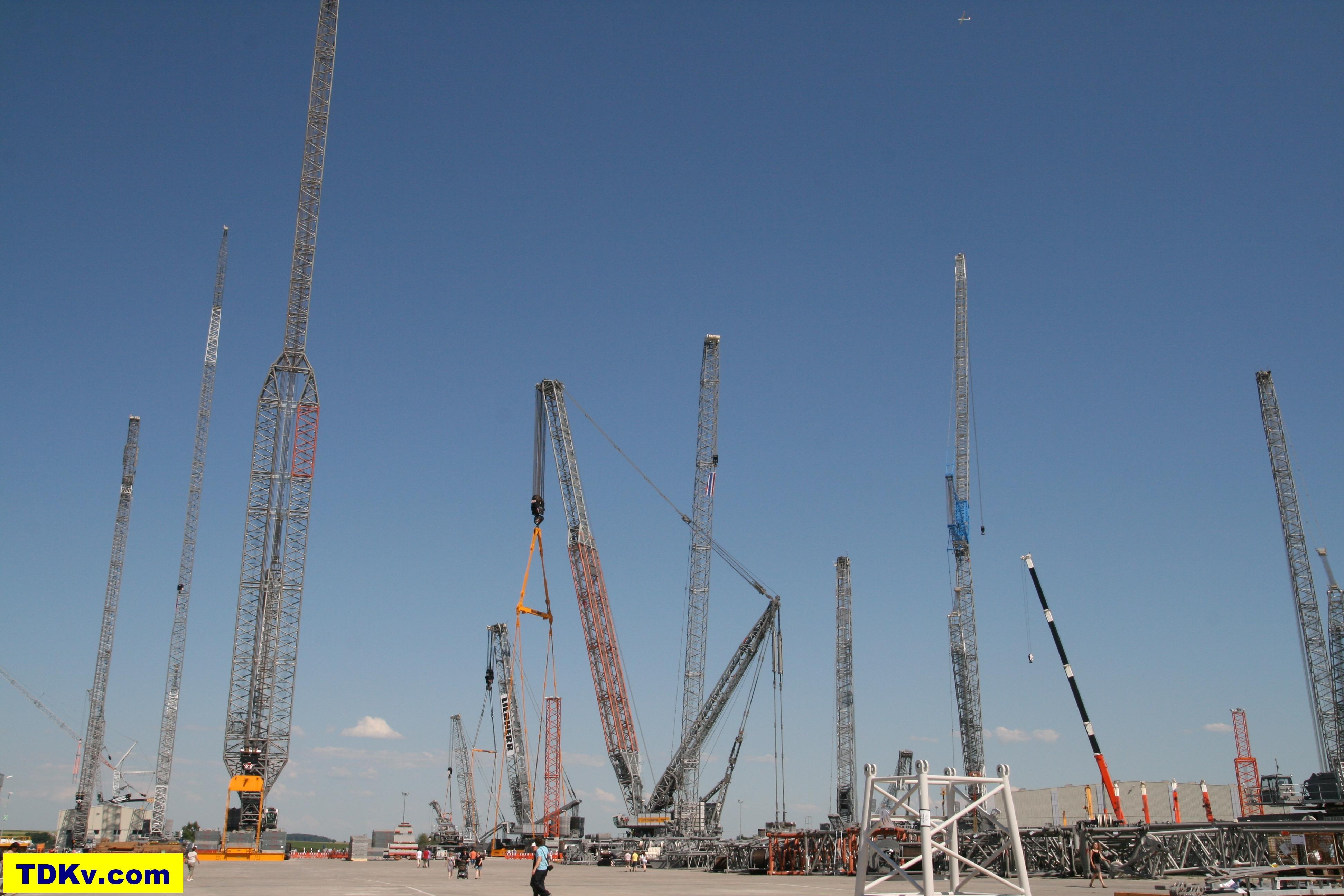 Liebherr Crane days 2012