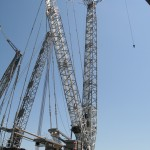 Liebherr LG 1750 lattice boom crane