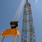 Liebherr LR 11350 Power boom