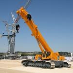 Liebherr LTR 1220 telescopic crawler crane