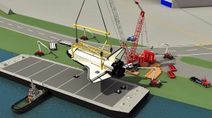 Crane lift plan for the Space Shuttle from HLI Consulting, LLC