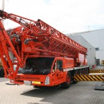 Spierings mobile tower crane SK1265-AT6 from Peinemann