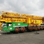 Spierings mobile tower crane SK2400-AT7 from Saan