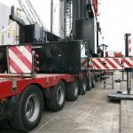 Spierings mobile tower crane SK2400R from Rhein Ruhr Krane