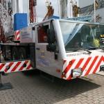 Spierings mobile tower crane SK377-AT3 from Kreyenburg