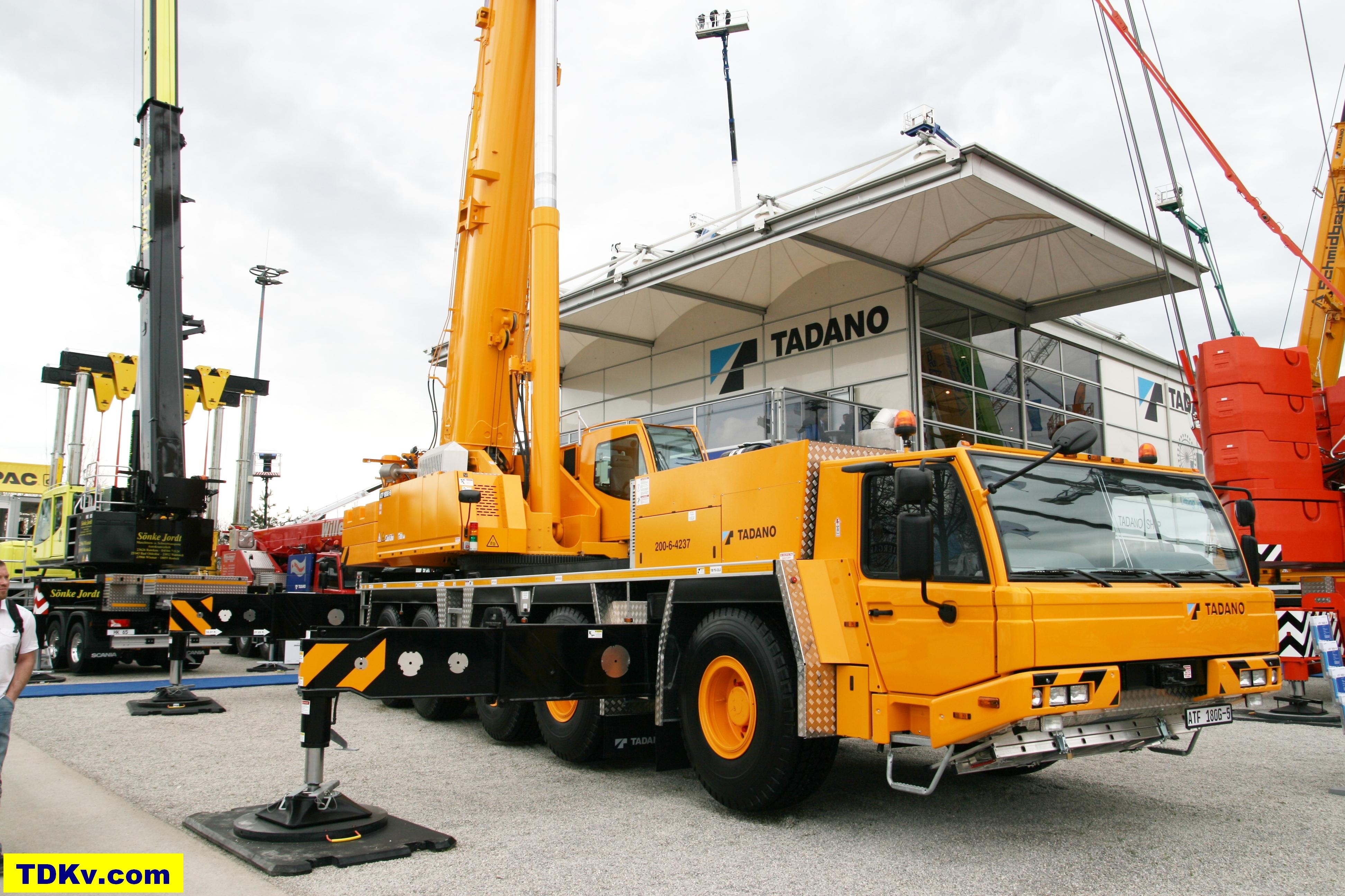 Tadano ATF 180G-5-Sterling