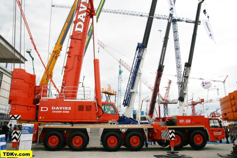 Tadano ATF 400G-6 for Davies Crane Hire on Bauma 2013