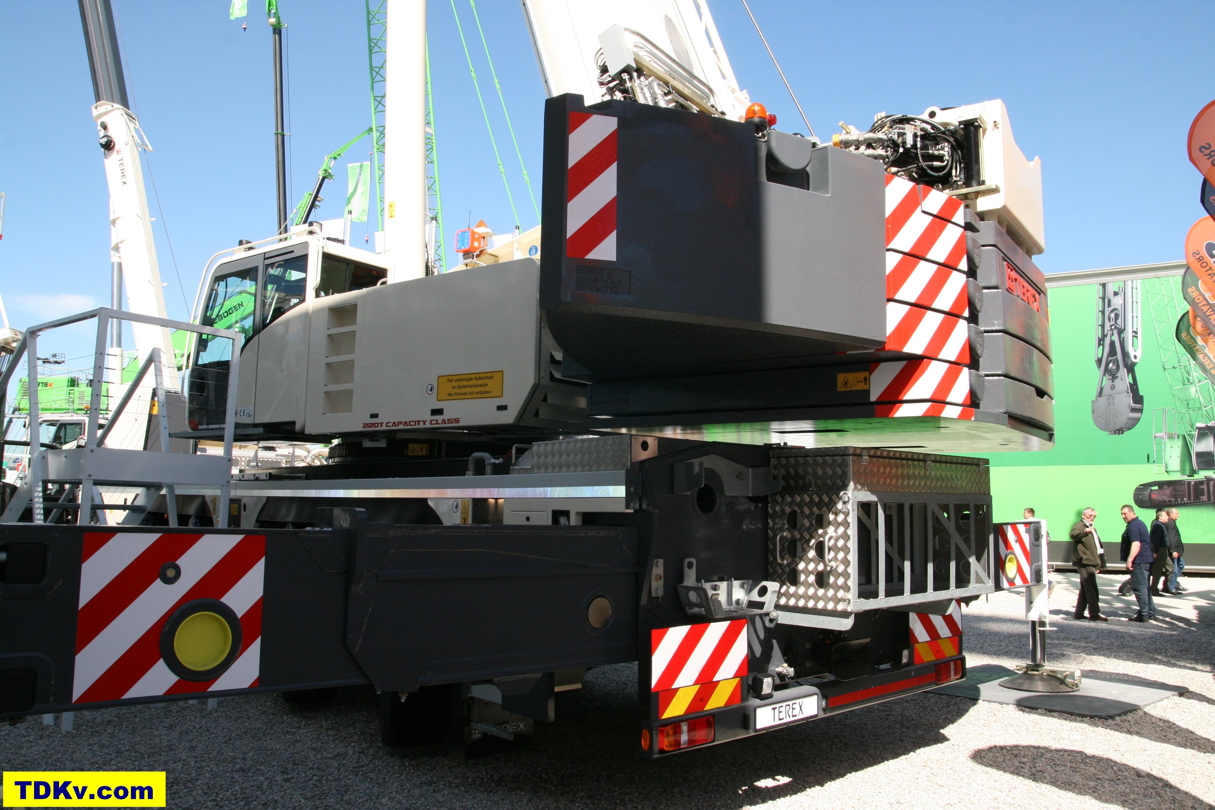 Terex crane Explorer 5800