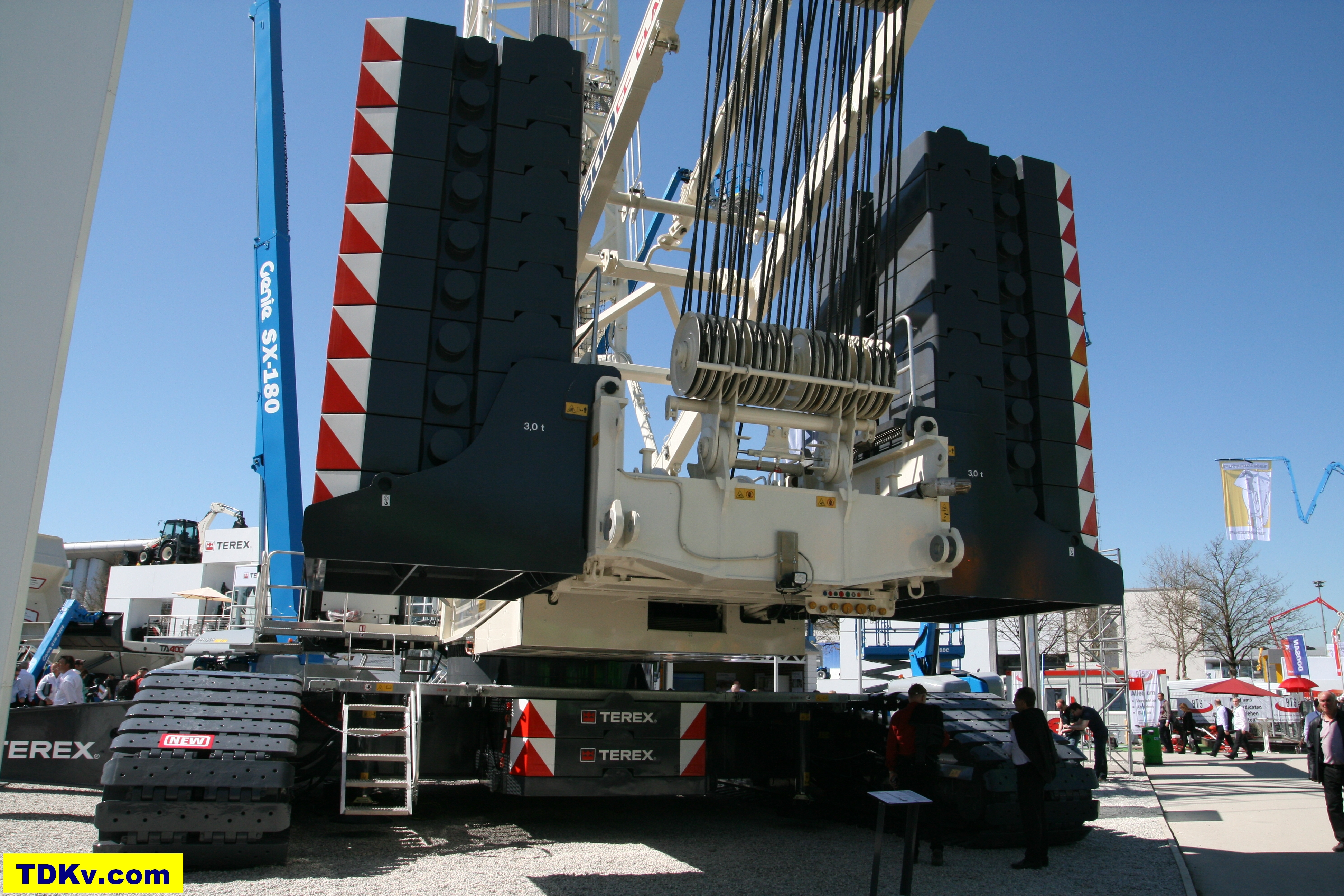 Terex Superlift 3800 Crawler crane