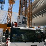 Liebherr MK 140 mobile tower crane