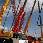 Liebherr cranes Bauma 2013