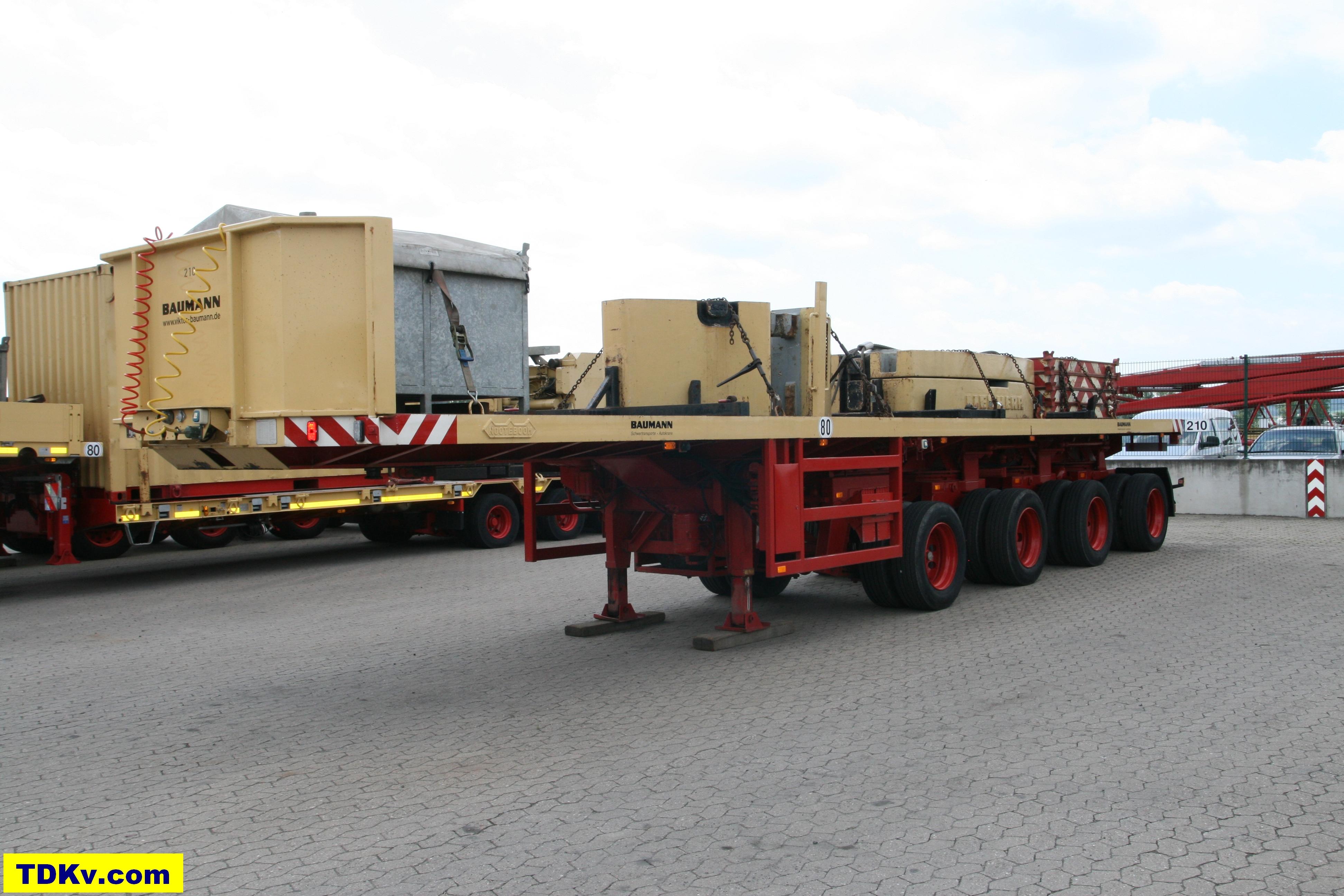 Baumann 4-Axle Ballasttrailer