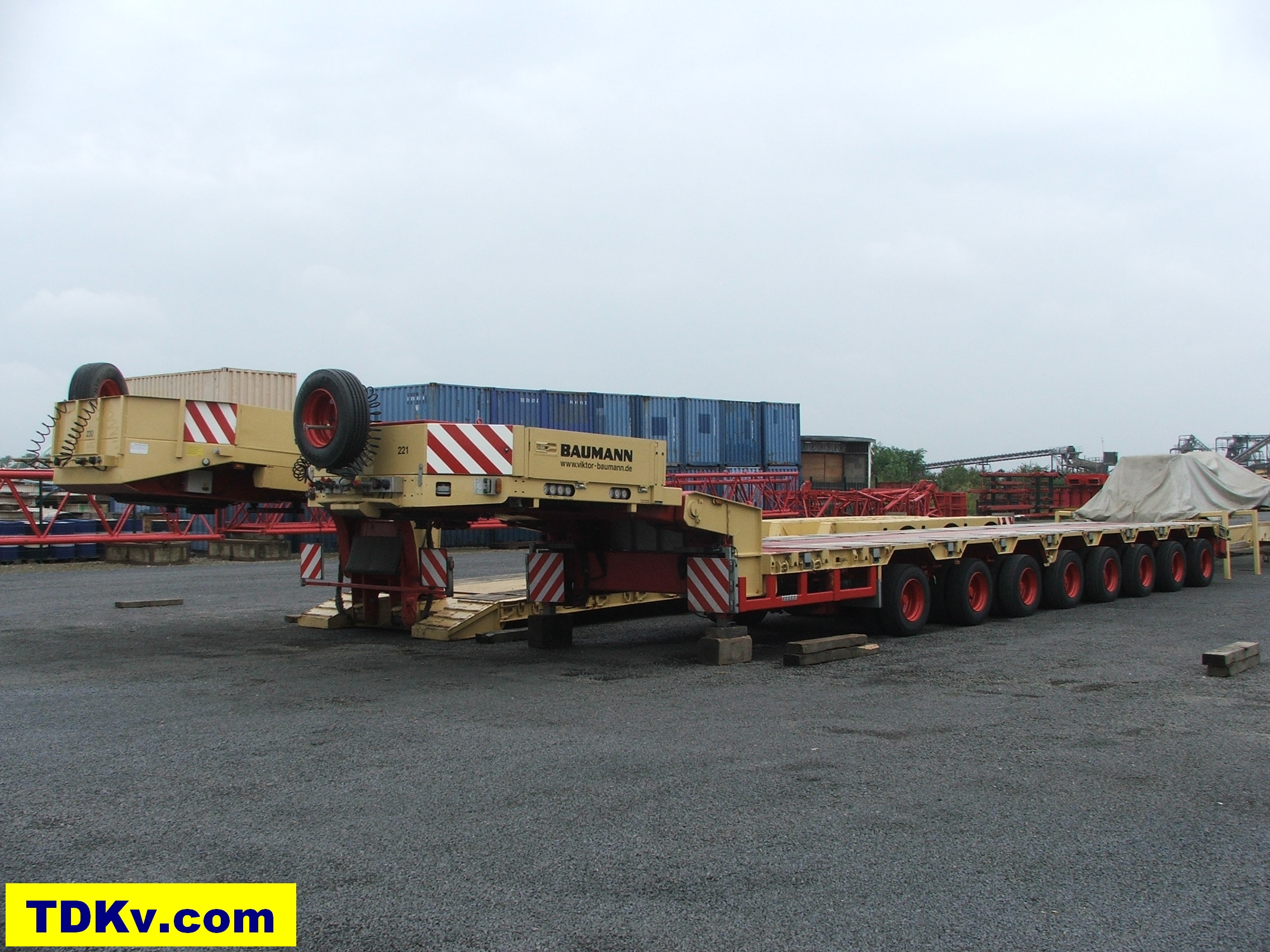 Baumann 8-Axle Trailer