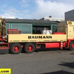 Baumann Actros 2646 loader crane