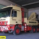 Baumann loader crane