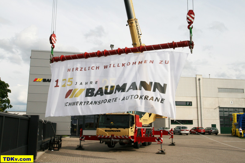 125 Years Baumann heavy haulage