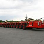 Baumann heavy haulage SPMT